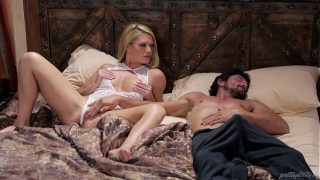Blonde Babe and her Sleepwalker Step Dad – Abby Cross and Tommy Pistol